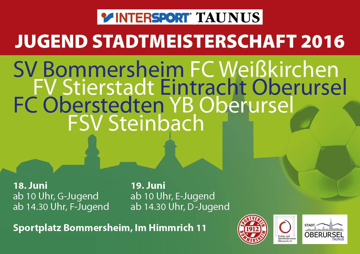 Intersport Taunus Jugendstadtmeisterschaften
